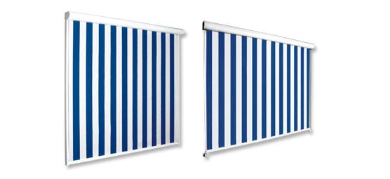 Varisol F100 Senkrechtmarkise Produktbilder